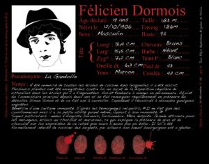 Félicien Dormois, adjoint du Commissaire Principal, dit La Gandolle - Les Enquêtes de Simon